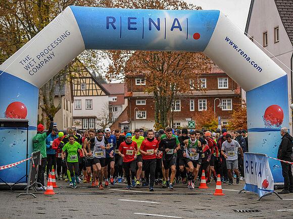 """Nach 14 Jahren wird aus dem """"WING-Halbmarathon und 10 km-Lauf"""" der """"HFU-Lauf – Halbmarathon und 10 km"""" (I1)"""