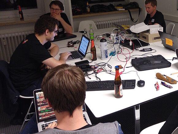 Hackathon Freiburg - Den digitalen Vorsprung gestalten
