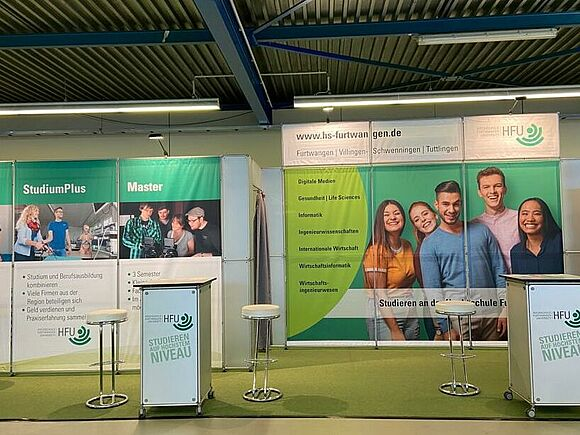 Fakultät WING vom 24.09. bis 26.09.20 auf der Jobs for Future in Schwenningen