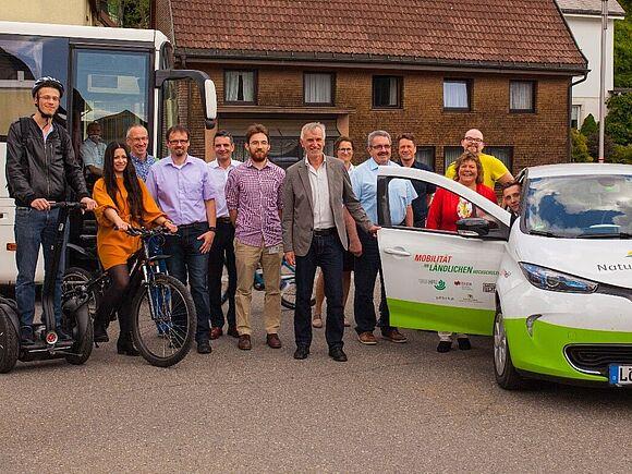 Nachhaltige Mobilität am Beispiel des kostenlosen Shuttles-Busses der HFU in den Breisgau (I8348)