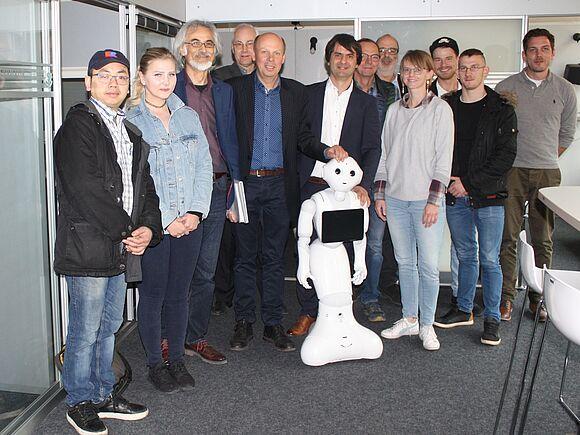 Smart Home Labor der Fakultät Informatik setzt Impulse für die Stadtverwaltung Villingen-Schwenningen (I11708)