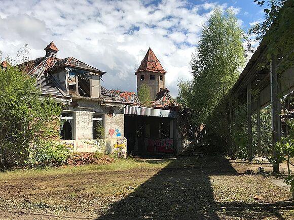 Gelände Schlachthof Areal Turm