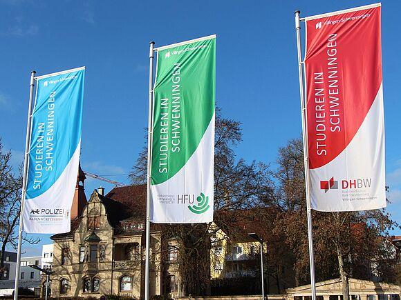 Stadt zeigt Flagge für Hochschulen