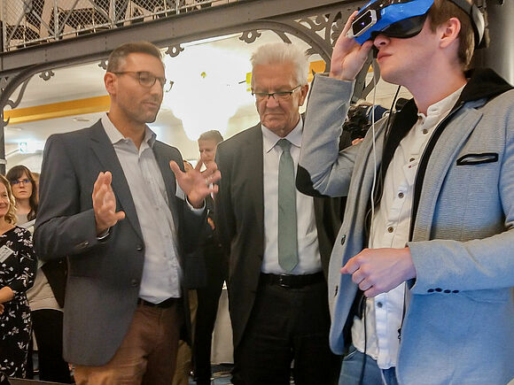 VR-Skills Training in der Pflege
