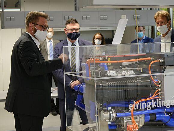 Wasserstoff-Innovationen und Robotik