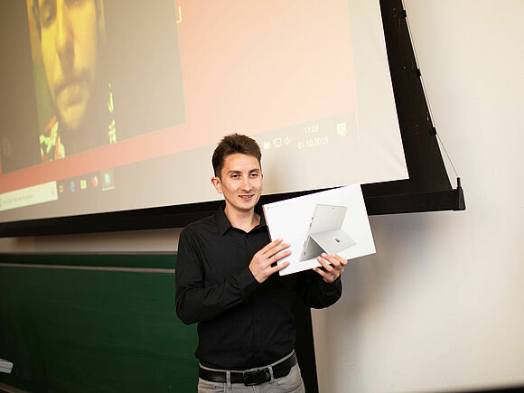Ray Sono Preis geht an Robin Grassner (I14133)