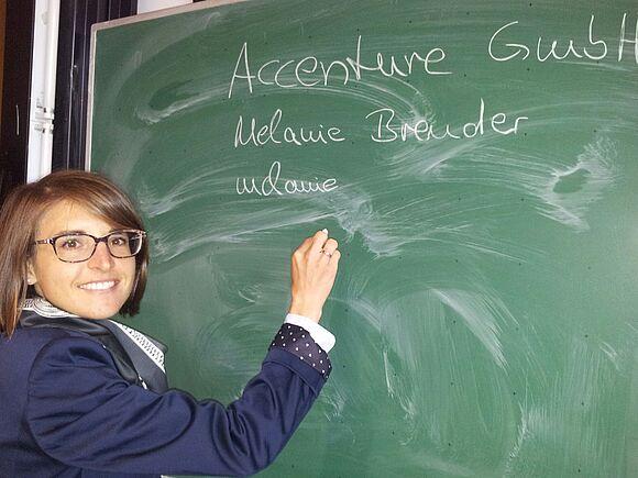 Graduate in 2006 Melanie Brender