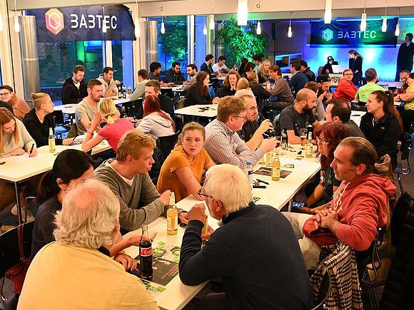 Bilder der Pasta-Party Michael Kienzler (I22065-3)