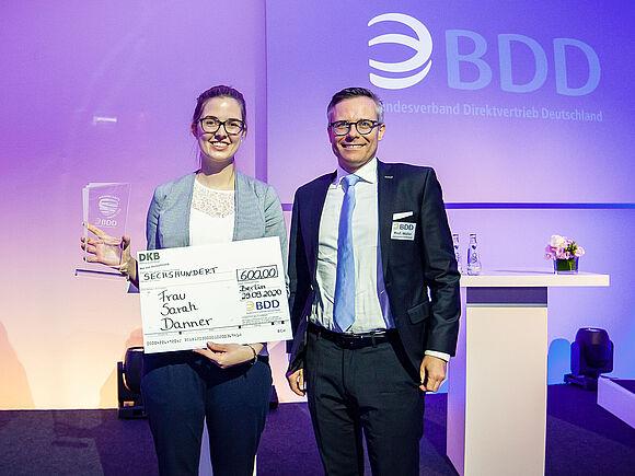Sarah Danner: Beste Bachelorarbeit Deutschlands