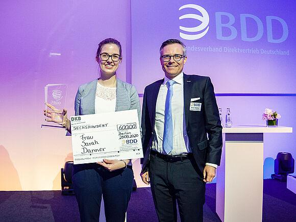 Sarah Danner: Beste Bachelorarbeit Deutschlands (I17830)