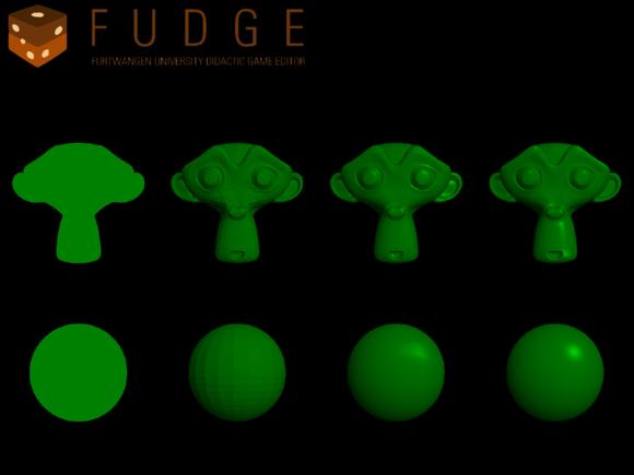 Weiterentwicklung des Shader-Systems der Game-Engine FUDGE