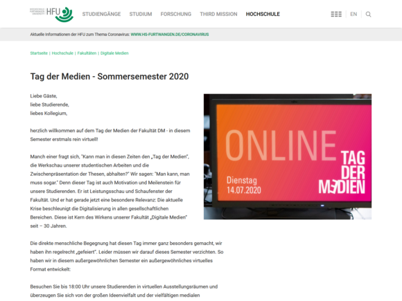 Tag der Medien goes Virtual (I17148)