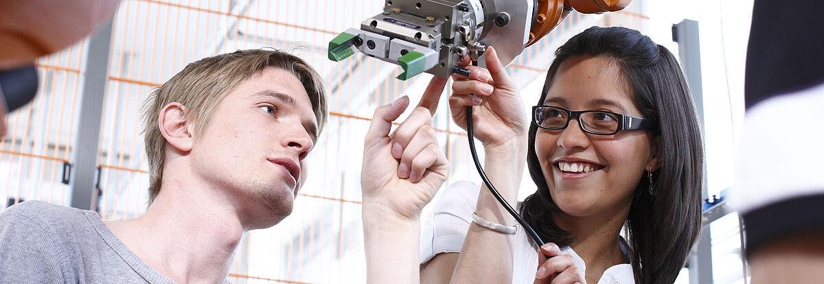 Maschinenbau und Mechatronik