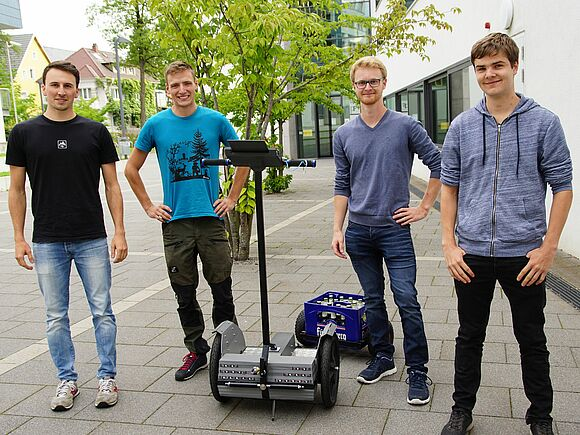 Segways im Eigenbau - Praktische Projekte in der Fakultät Mechanical and Medical Engineering