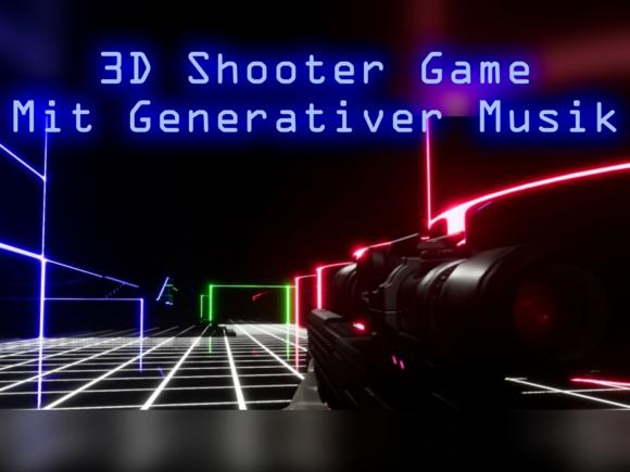 Einfluss generativer Musik auf die Erfahrung eines 3D Action Survival Shooter Games