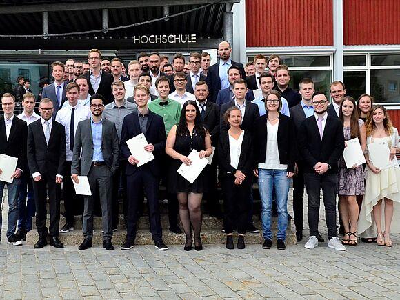 Absolventenfeier der Fakultät Informatik (I8344)