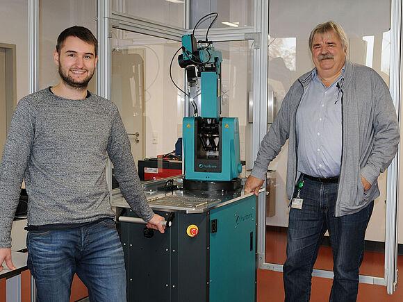 Robotik-Labor am IFC eröffnet