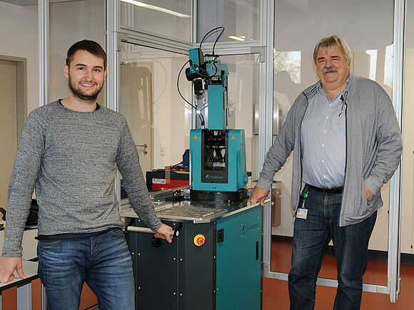 Robotik-Labor am IFC eröffnet (I18290)