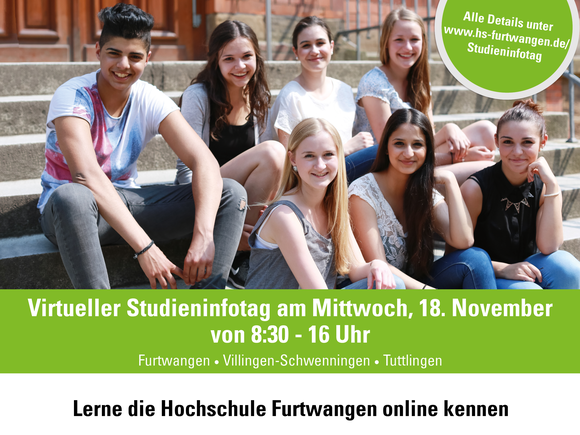 HFU-Studieninfotag am 18.11.2020