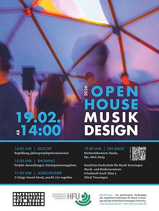 OPEN HOUSE Musikdesign am 19. Februar 2020 (I15756)