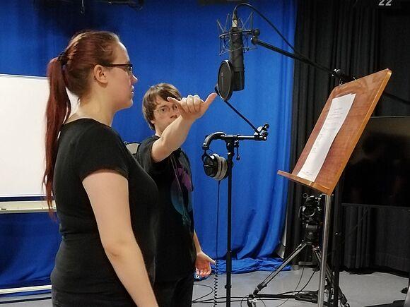 Musik-Aufnahmen für Menschen mit Demenz