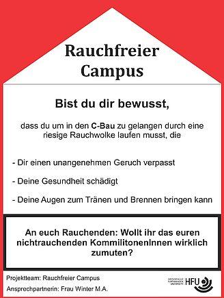 Rauchfreier Campus