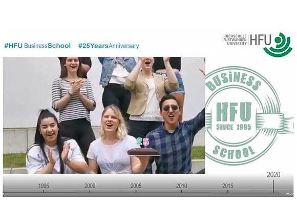 Ein Vierteljahrhundert HFU Business School (I19308)