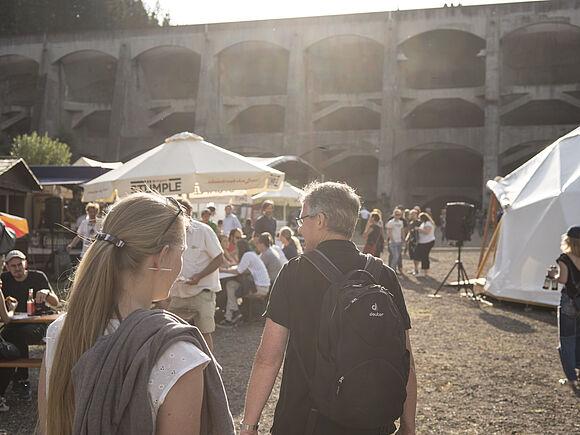 Einmal zum Mond und zurück – Das erste Reservoir Festival an der Linachtalsperre (I10)
