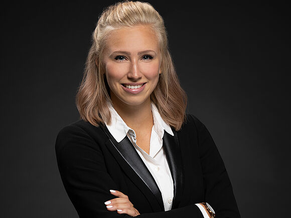 Absolventin Caroline Fichtner