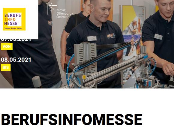 Digitale Berufsinfomesse am 7. und 8. Mai 2021 in Offenburg (I20449)