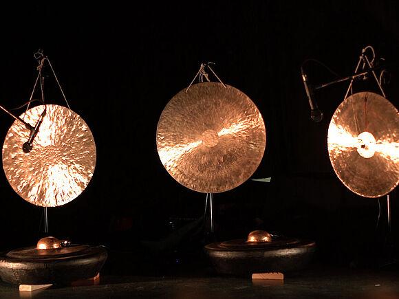 Elektromechanisches Gong Ensemble