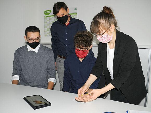 Ingenieurpsychologie-Studierende entwickeln App