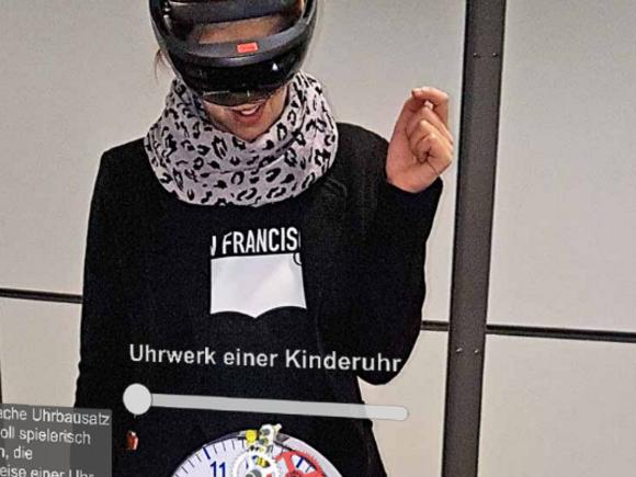 Virtuelle Museumsführung für das Deutsche Uhrenmuseum entwickelt