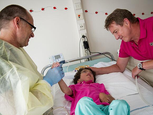 Bessere Versorgung für lebensverkürzend erkrankte Kinder (I19309)
