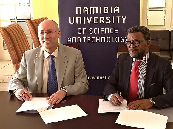 New partnerships in Namibia for Furtwangen University