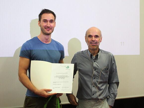 Julian Keller, Gewinner Hanuta for Bugs