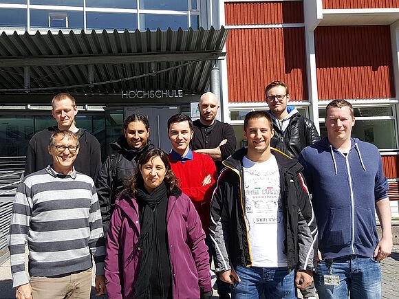 Forschungsaustausch am IfCCITS in Furtwangen