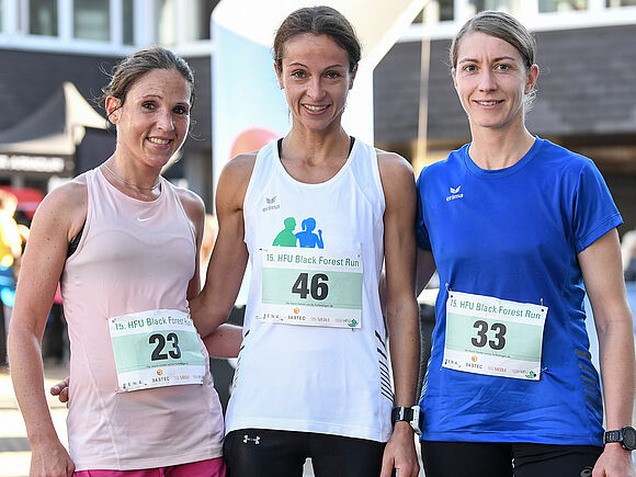 15. HFU Black Forest Run mit Teilnehmer- und Temperaturrekord (I3)