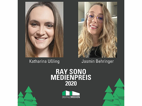 Ray Sono Preis geht an zwei OMB-Absolventinnen