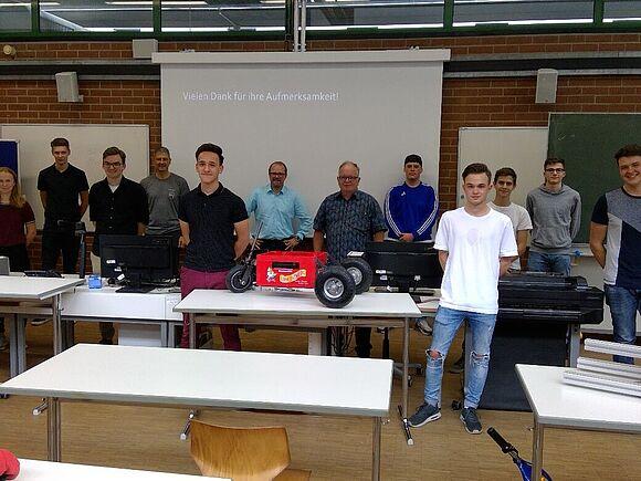Mechatronik Praxis für Schüler in Rottweil