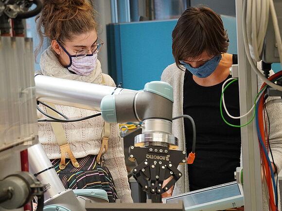 Besuch von der University of Applied Sciences Frankfurt