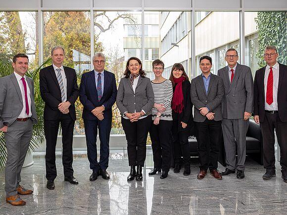 HFU-Delegation bei Diehl