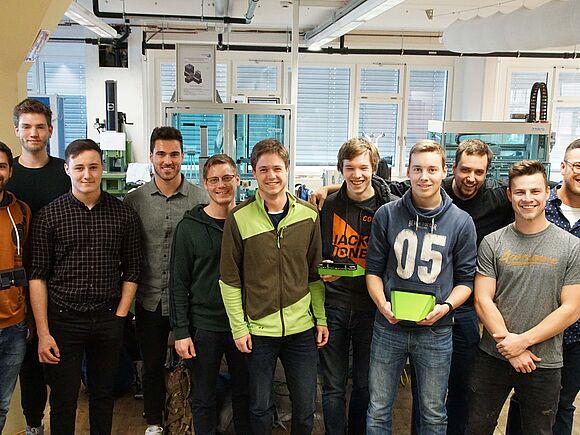 "Roboterwettkampf im Fach ""Mechatronik Praxis"""