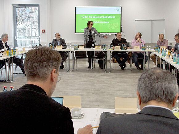 Treffen der Maschinenbaudekane Baden-Württembergs