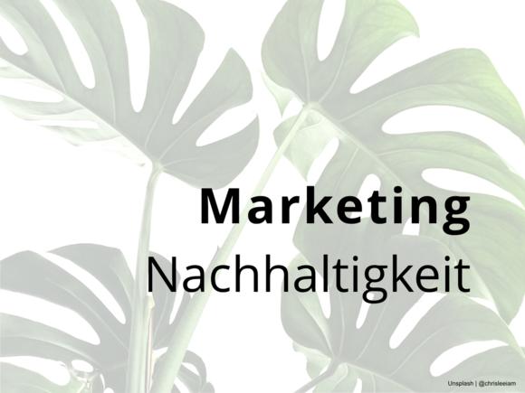 Handlungsempfehlungen für die Marketingkommunikation von nachhaltigen Produkten.