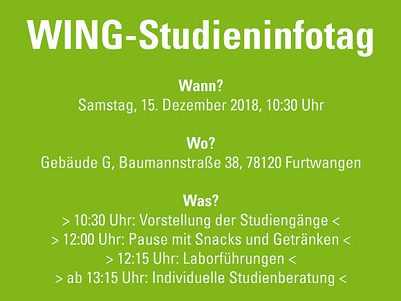WING-Studieninfotag am 15.12.2018 (I10047)
