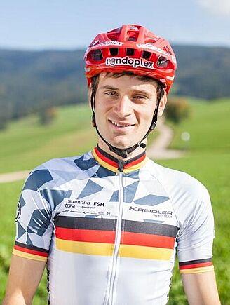 Markus Bauer, 2018 German MTB Marathon Champion. Photo Michael Bührer