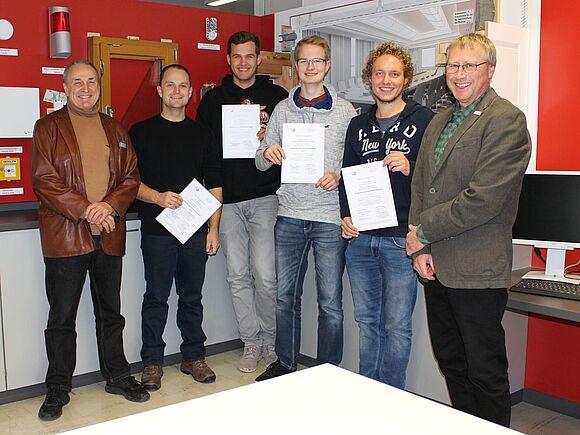 SSB-Studierende qualifizieren sich zum Störfallbeauftragten (I10174)