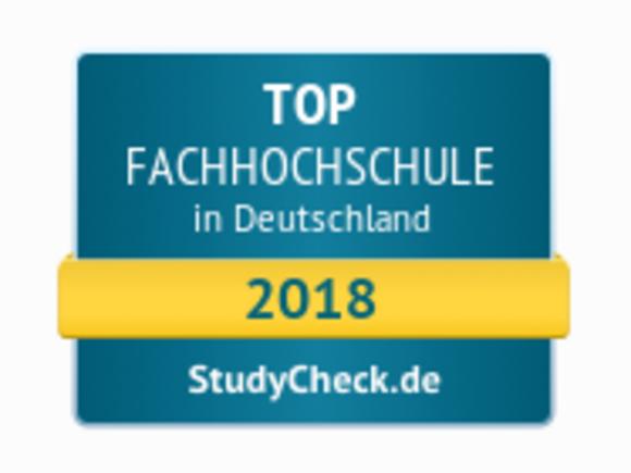 HFU ist eine TOP-Fachhochschule im Studycheck-Ranking