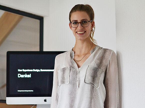 Carolin Franz mit HFU-Lehrpreis ausgezeichnet